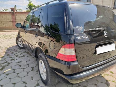 Mercedes-Benz ML 320 2001 года за 3 150 000 тг. в Шымкент – фото 3