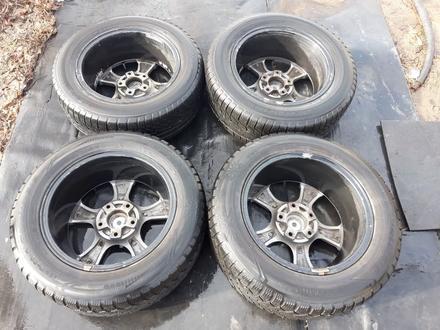 Хорошие диски с шинами! за 60 000 тг. в Караганда – фото 4