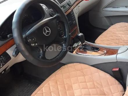 Mercedes-Benz E 200 2007 года за 4 200 000 тг. в Кордай – фото 9
