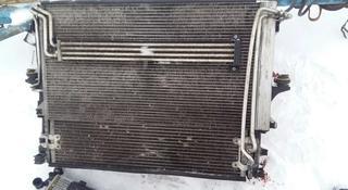 Радиатор основной кондиционера диффузор Volkswagen Touareg за 1 000 тг. в Семей