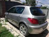 Peugeot 307 2005 года за 2 100 000 тг. в Алматы – фото 4