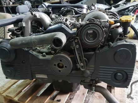 Двигатель контрактный Субару Легаси b4, V-2.5 литра в Алматы – фото 2