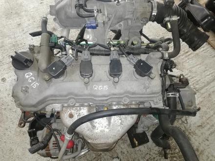 Двигатель на ниссан QG15.QG18 за 150 000 тг. в Алматы – фото 4