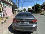 Hyundai Elantra 2018 года за 7 490 000 тг. в Шымкент – фото 3