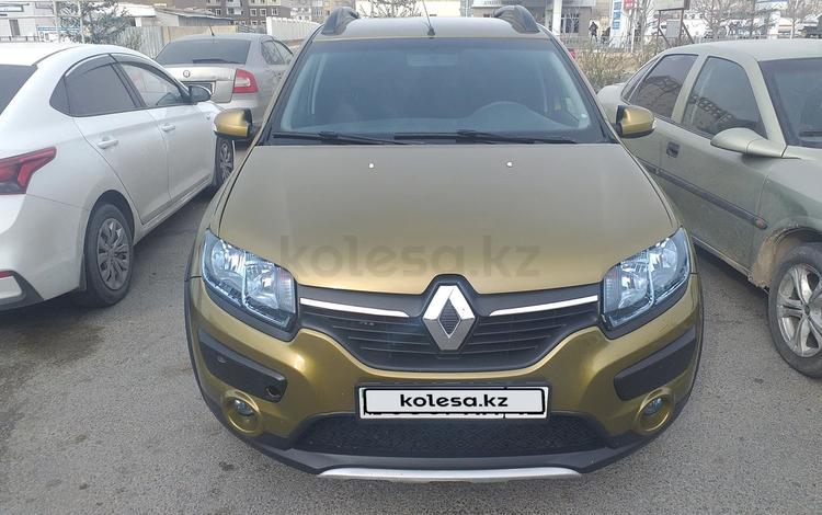 Renault Sandero Stepway 2015 года за 3 200 000 тг. в Актау