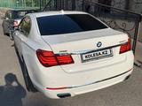 BMW 750 2012 года за 13 000 000 тг. в Алматы – фото 3