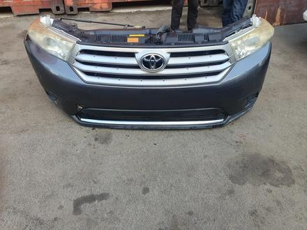 Toyota highlander 2013г носкат (морда) за 850 000 тг. в Алматы – фото 2