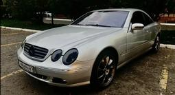 Mercedes-Benz CL 500 2001 года за 3 600 000 тг. в Алматы – фото 2