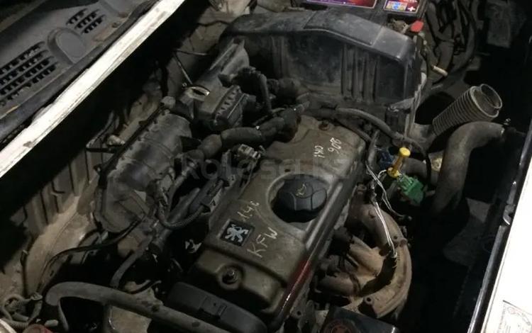 Двигатель на Пежо 206 (1.4) привозной в навесе за 4 455 тг. в Алматы