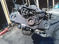 Двигатель SUBARU FORESTER SF5 EJ201 2000 за 302 000 тг. в Алматы