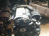 Двигатель на Mercedes benz 2.8L 24 V 104162 injector за 335 000 тг. в Тараз – фото 2