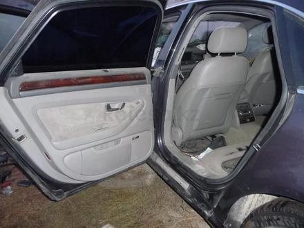 Передняя дверь, задняя дверь Audi a8 d3 двери петли замки за 40 000 тг. в Алматы – фото 5