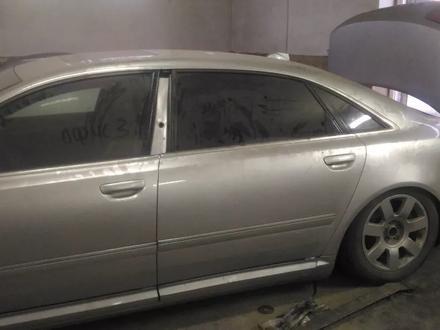 Передняя дверь, задняя дверь Audi a8 d3 двери петли замки за 40 000 тг. в Алматы – фото 3