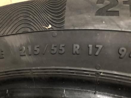 215/55/17 пара бу континенталь за 26 000 тг. в Алматы – фото 5