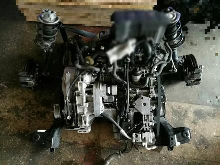 Двигатель навесное коробка на мерседес w168 за 101 тг. в Алматы – фото 2