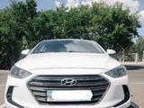Hyundai Elantra 2017 года за 8 400 000 тг. в Нур-Султан (Астана) – фото 2