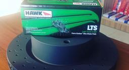 Комплект Перед. Тормозные диски HAWK + колодки HAWK LTS за 220 000 тг. в Алматы – фото 3
