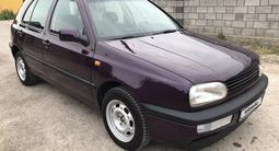 Volkswagen Golf 1993 года за 1 600 000 тг. в Кордай – фото 4