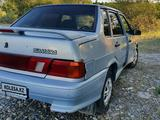 ВАЗ (Lada) 2115 (седан) 2006 года за 1 000 000 тг. в Талдыкорган – фото 2