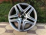 Диски AMG r21 на Mercedes GL, ML, GLE, GLS. за 640 000 тг. в Алматы – фото 4