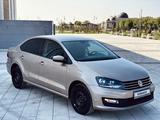 Volkswagen Polo 2017 года за 6 200 000 тг. в Туркестан – фото 3