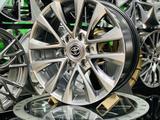 Новые диски 18ти дюймовые на Toyota prado 120 за 210 000 тг. в Нур-Султан (Астана) – фото 2