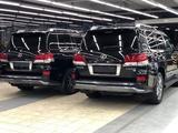 Рестайлинг F-Sport Lexus LX570 за 750 000 тг. в Алматы – фото 2