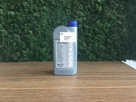Жидкость тормозная тип DOT4 Nissan за 3 269 тг. в Петропавловск