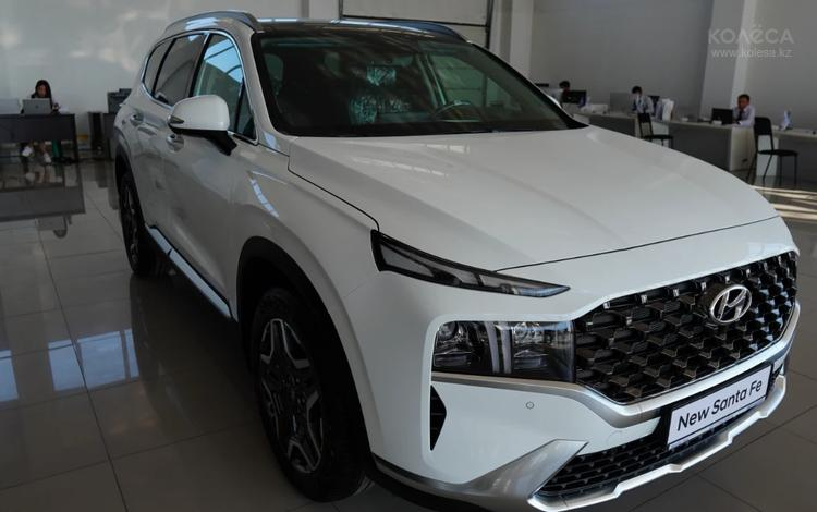 Hyundai Santa Fe 2021 года за 14 090 000 тг. в Тараз