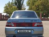 ВАЗ (Lada) 2110 (седан) 2005 года за 1 250 000 тг. в Тараз – фото 4