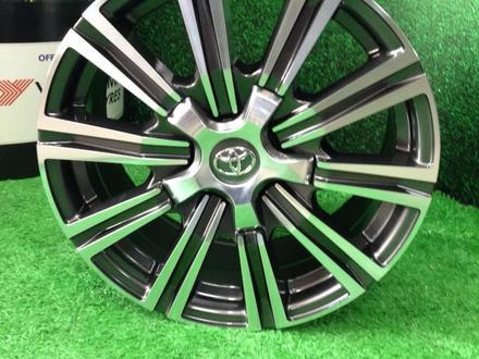Новые авто диски р18 Toyota LC200-100, Lexus LX570-470 за 145 000 тг. в Алматы – фото 4