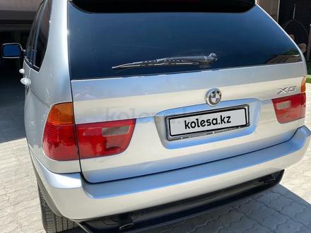 BMW X5 2001 года за 4 200 000 тг. в Шымкент – фото 6