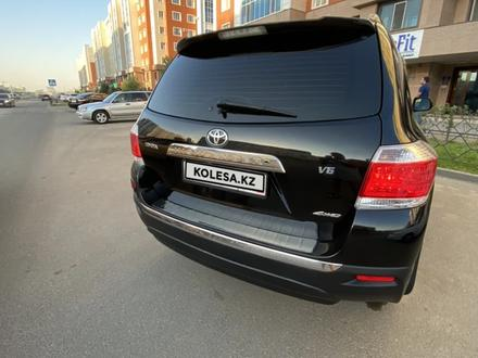 Toyota Highlander 2011 года за 9 000 000 тг. в Нур-Султан (Астана) – фото 8