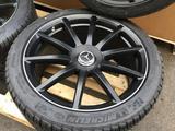 Комплект оригинальных шин дисков в сборе на W 222 Michelin Pilot Alpin PA4 за 1 300 000 тг. в Алматы – фото 2