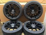 Комплект оригинальных шин дисков в сборе на W 222 Michelin Pilot Alpin PA4 за 1 300 000 тг. в Алматы