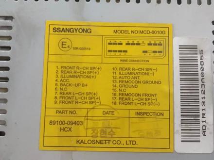 Штатная магнитола ssang young kyron за 20 000 тг. в Алматы – фото 6