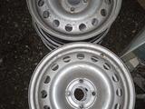 Новые железные диски на 16 от форда можно на ауди поставить за 50 000 тг. в Петропавловск