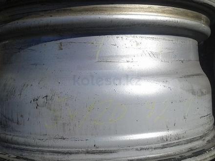 Оригинальные легкосплавные диски 27 стиль на BMW 3 (Германия R15 5 за 70 000 тг. в Нур-Султан (Астана) – фото 8