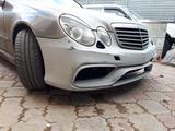 Тюнинг передний бампер Prior Design для w211 Mercedes Benz за 100 000 тг. в Алматы – фото 4