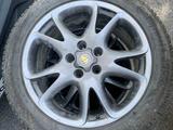 Шины с дисками, шины Continental, диск от Porsche за 360 000 тг. в Алматы – фото 4