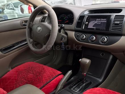 Toyota Camry 2005 года за 4 500 000 тг. в Тараз – фото 7