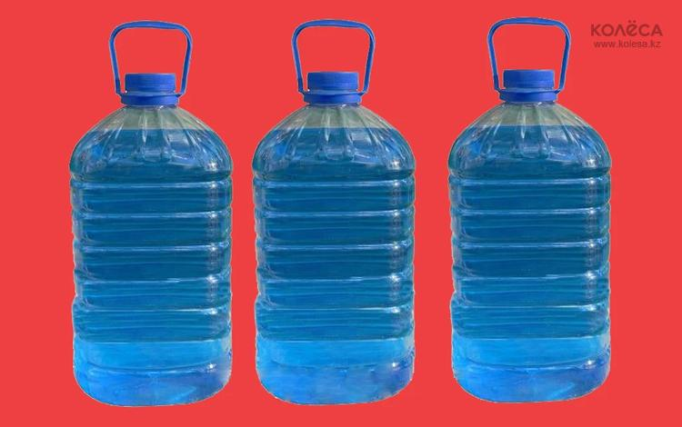 Жидкость стеклоочистителя зимняя 5 л. за 1 100 тг. в Алматы