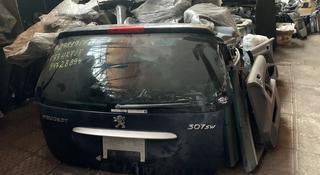 Крышка багажника универсал Peugeot 307 привозная с японии за 35 000 тг. в Алматы