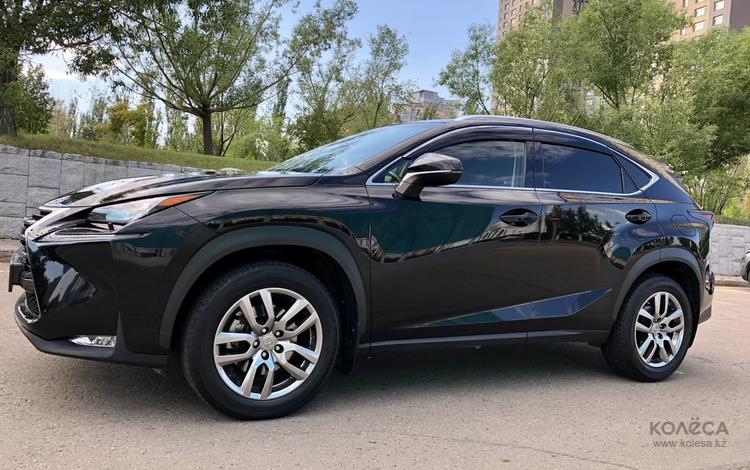 Lexus NX 200 2017 года за 15 000 000 тг. в Нур-Султан (Астана)