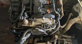 Двигатель (ДВС мотор) на Volkswagen Passat FSI 2.0 турбо за 600 000 тг. в Алматы