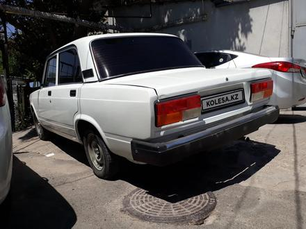 ВАЗ (Lada) 2107 2010 года за 1 100 000 тг. в Шымкент – фото 2