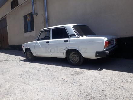 ВАЗ (Lada) 2107 2010 года за 1 100 000 тг. в Шымкент – фото 4