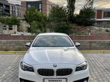BMW 528 2014 года за 12 200 000 тг. в Алматы