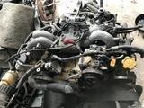 Двигатель ej254 2.5 четырёхвальный Subaru Forester sf5, Subaru Legacy за 330 000 тг. в Алматы