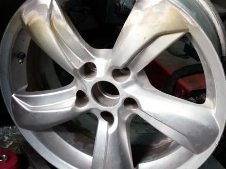 Реставрация авто дисков в Алматы – фото 145